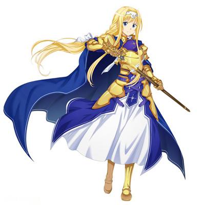 ◆5点限定・予約商品◆ ソードアート・オンライン(Sword Art Online)(アリシゼーション編) アリス・ツーベルク  コスプレ衣装ver.2
