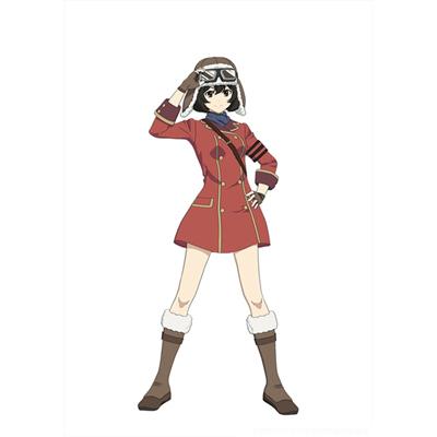 ◆5点限定・予約商品◆ 荒野のコトブキ飛行隊   キリエ   コスプレ衣装