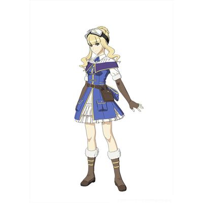 ◆5点限定・予約商品◆ 荒野のコトブキ飛行隊   エンマ   コスプレ衣装