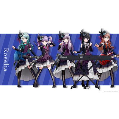 ◆10点限定・予約商品◆ BanG Dream!(バンドリ!) Roselia  全員 コスプレ衣装  予約開始!
