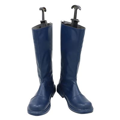 【転生したらスライムだった件 ブーツ 】リムル=テンペスト  合皮 ゴム底 コスプレ靴 コスプレブーツ