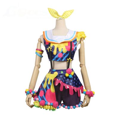 【バンドリ! 衣装】BanG Dream! Poppin'Party New_Costumes  山吹沙綾(やまぶき さあや) コスプレ衣装