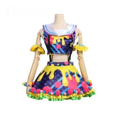 【バンドリ! 衣装】BanG Dream! Poppin'Party New_Costumes  市ヶ谷有咲(いちがや ありさ) コスプレ衣装