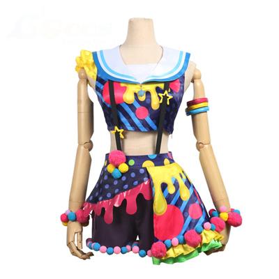 【バンドリ! 衣装】BanG Dream! Poppin'Party New_Costumes   花園たえ(はなぞの たえ) コスプレ衣装