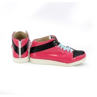 【A3!(エースリー) ブーツ 】 佐久間咲也 合皮 ゴム底 コスプレ靴 コスプレブーツ