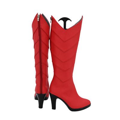 【転生したらスライムだった件 ブーツ 】ミリム・ナーヴァ  合皮   コスプレ靴 コスプレブーツ