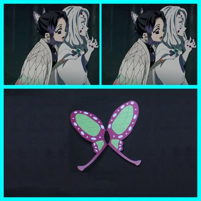【鬼滅の刃 道具】 胡蝶しのぶ   髪飾り コスプレ道具