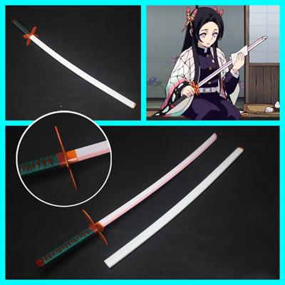 【鬼滅の刃 道具】胡蝶カナエ  刀+鞘  コスプレ道具