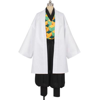 【鬼滅の刃 衣装】錆兎(さびと)  コスプレ衣装