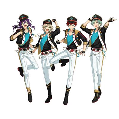 ◆10点限定・予約商品◆ あんさんぶるスターズ!(Ensemble Stars!) あんスタ ALKALOID(アルカロイド) 全員 コスプレ衣装