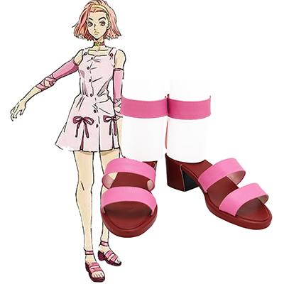 【ジョジョの奇妙な冒険 ブーツ 】杉本鈴美 (すぎもとれいみ) 合皮 ゴム底 コスプレ靴