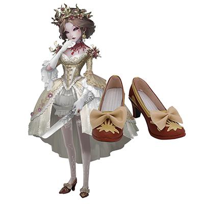 【第五人格 ブーツ 】IdentityV  血の女王 マリー  合皮 ゴム底  コスプレ靴