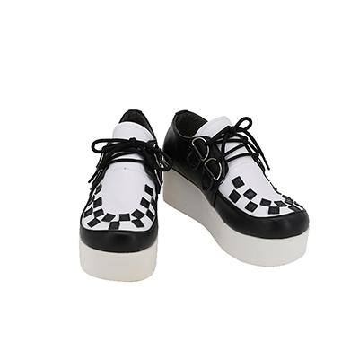【ヒプノシスマイク ブーツ】天国獄 (あまぐにひとや)  合皮 ゴム底 コスプレ靴