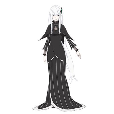 ◆5点限定・予約商品◆ Re:ゼロから始める異世界生活  エキドナ  コスプレ衣装