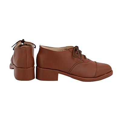 【ヒプノシスマイク ブーツ】 躑躅森盧笙 合皮 ゴム底 コスプレ靴
