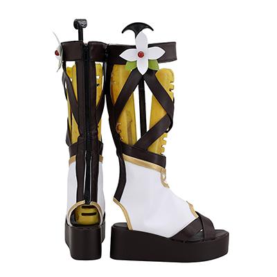 【プリンセスコネクト ブーツ】 プリコネ コッコロ  合皮 ゴム底 コスプレ靴
