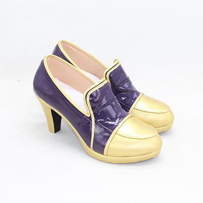 【ツイステ ブーツ】ディズニー ツイステッドワンダーランド  式典服  全員   合皮  ゴム底  コスプレ靴VER.2