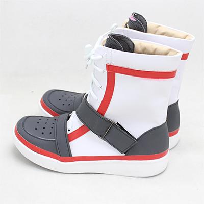 【ツイステ ブーツ】ディズニー ツイステッドワンダーランド  デュース・スペード   合皮  ゴム底  コスプレ靴