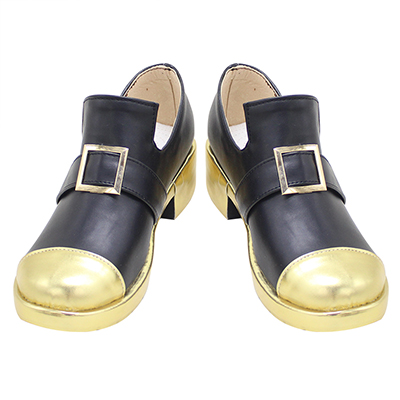 【あんスタ ブーツ】あんさんぶるスターズ!   桜河こはく (おうかわこはく)  合皮 ゴム底 コスプレ靴