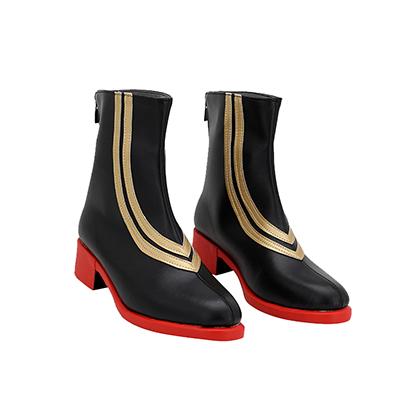 【あんスタ ブーツ】あんさんぶるスターズ!   ALKALOID(アルカロイド) 風早巽(かぜはや たつみ)  合皮 ゴム底 コスプレ靴