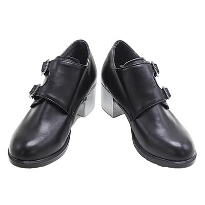 【ツイステ ブーツ 】ディズニー ツイステッドワンダーランド  アズール・アーシェングロット 合皮 ゴム底 コスプレ靴