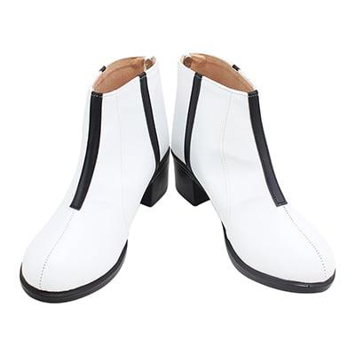 【呪術廻戦 ブーツ 】真人  合皮 ゴム底 コスプレ靴