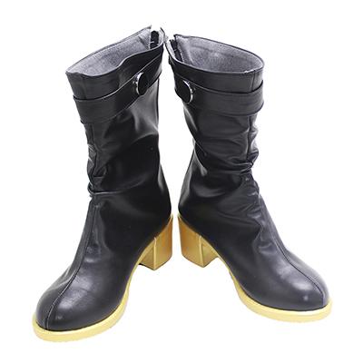 【呪術廻戦 ブーツ 】禪院真希  合皮 ゴム底 コスプレ靴