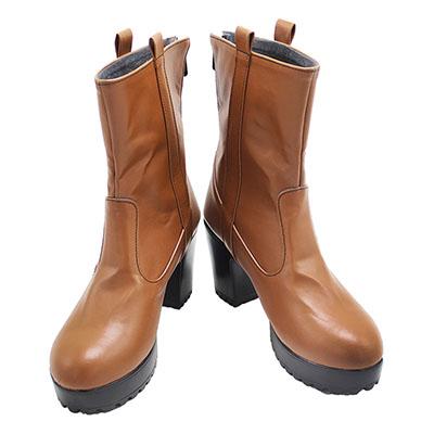 【呪術廻戦 ブーツ】禪院真依  合皮 ゴム底 コスプレ靴