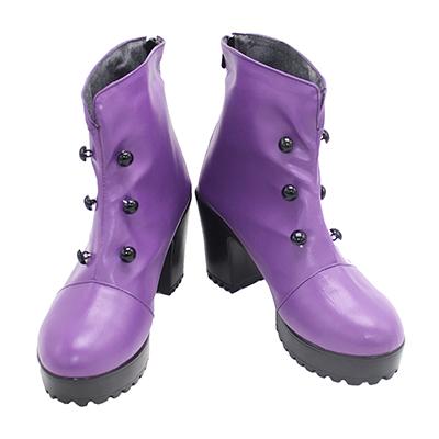 【FGO ブーツ 】Fate/Grand Order  アルトリア・ペンドラゴン  風 合皮 ゴム底 コスプレ靴