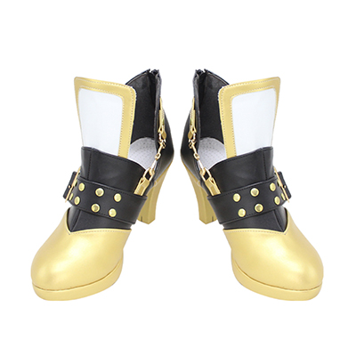 【あんスタ ブーツ】 あんさんぶるスターズ!(Ensemble Stars!) Distorted Heart 礼瀬マヨイ (あやせまよい) 合皮 ゴム底 コスプレ靴