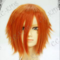 Orange Black Butler  Dorothel Kainz Short Nylon Cosplay Wig