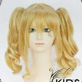 Blonde Black Butler  Elizabeth Nylon Long Nylon Wavy Cosplay Wig