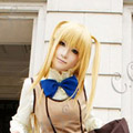 Blonde Maria Holic Shidoumariya Long Nylon Straight Cosplay Wig