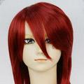 Red SOUL EATER  Death Scythe  Spirit Mid-Long Nylon Cosplay Wig