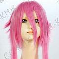 Pink  ARIA  Mizunashi Akari Long Nylon Cosplay Wig