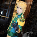 Blonde Vocaloid  Kagamine Len  Semi-Long  Nylon Cosplay Wig