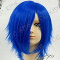 Blue Vocaloid  Kaito  Short Nylon Cosplay Wig