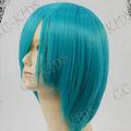 Light Blue  Short Nylon Cosplay Wig
