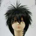 Black  Short Nylon Cosplay Wig