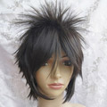 Dark Gray Short Nylon Cosplay Wig