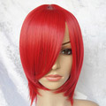Red Short Nylon Cosplay Wig