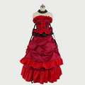Black Butler Kuroshitsuji Madam red dance costume Cosplay Costume