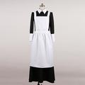 メイド服 コスチューム ブラック ホワイト コスプレ衣装