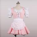 メイド服 コスチューム ミニスカート ピンク コスプレ衣装
