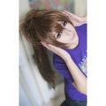薄桜鬼 藤堂平助 ブラウン ロング ストレートの髪 コスプレコスプレウィッグ