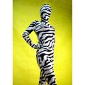 Sexy Zebra Lycra Spandex  Zentai Suit