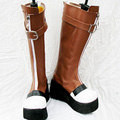 The Legend of Heroes: Trails in the Sky Olivier Lenheim PU Leather Cosplay Boots
