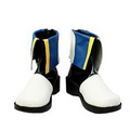 Vocaloid Kaito PU Leather Cosplay Boots