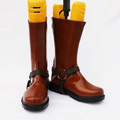 DRAGON BALL Made Man No18 PU Leather Cosplay Boots