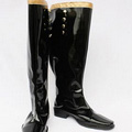 Castlevania PU Leather Cosplay Boots